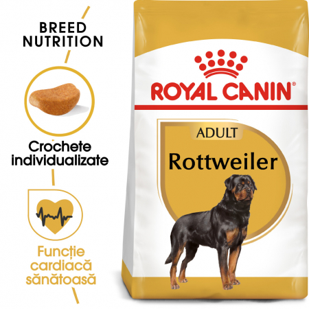 Royal Canin ROTTWEILER Adult Hrana Uscata Caine0