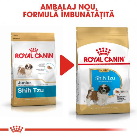Royal Canin SHIH TZU Puppy Hrana Uscata Caine6