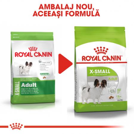 Royal Canin X-Small Adult hrana uscata caine1