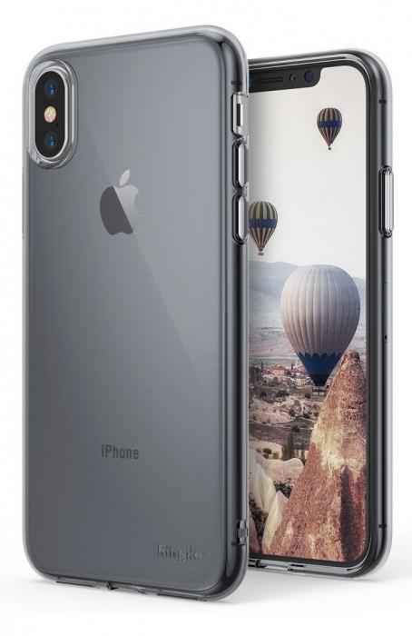 Husă Ringke Air Smoke Black pentru iPhone X 0