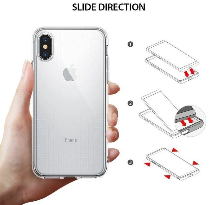 Husă Ringke Air Clear pentru iPhone X 5