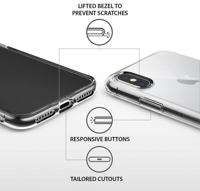Husă Ringke Air Clear pentru iPhone X 4