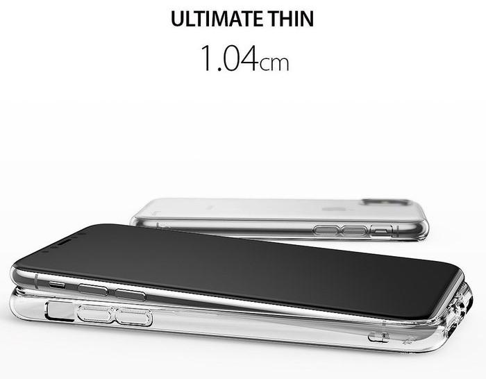 Husă Ringke Air Clear pentru iPhone X 6
