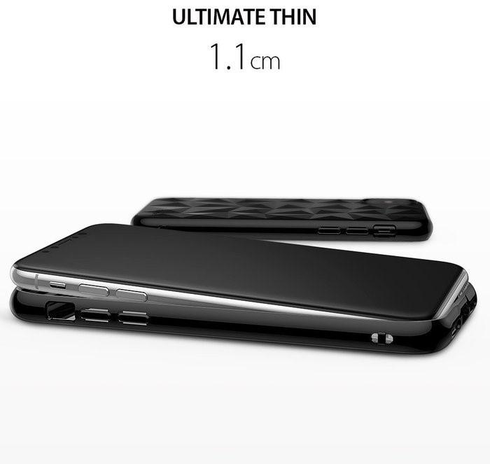 Husă Ringke Prism Ink Black pentru iPhone X 2