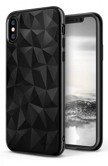 Husă Ringke Prism Ink Black pentru iPhone X 0