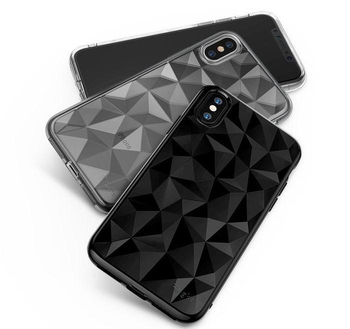 Husă Ringke Prism Ink Black pentru iPhone X 4