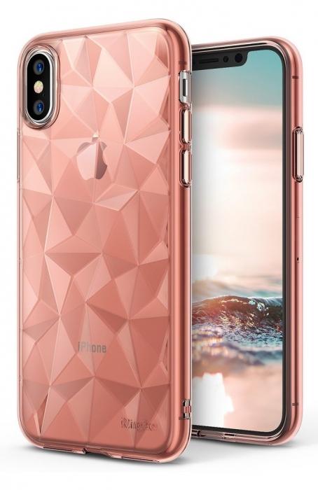 Husă Ringke Prism Rose Gold pentru iPhone X 6