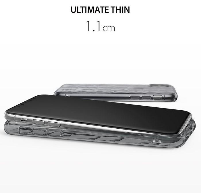 Husă Ringke Prism Smoke Black pentru iPhone X 1