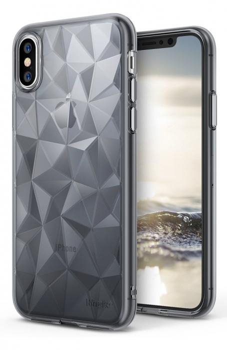 Husă Ringke Prism Smoke Black pentru iPhone X 7