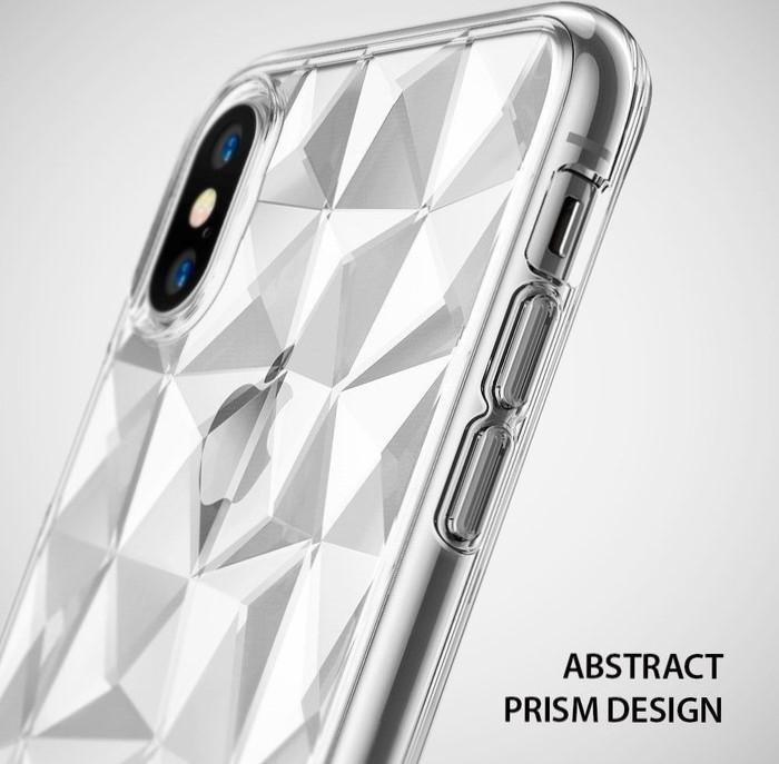 Husă Ringke Prism Clear pentru iPhone X 0
