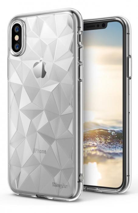 Husă Ringke Prism Clear pentru iPhone X 1