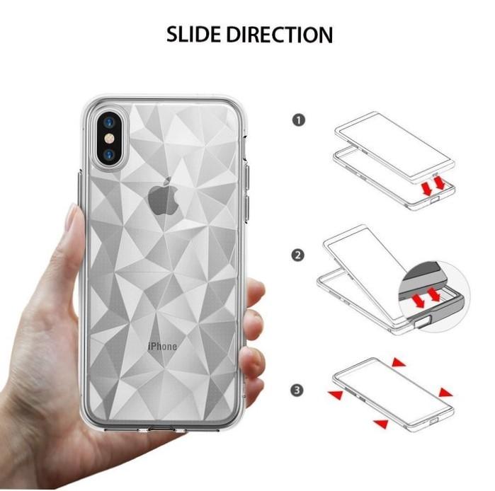 Husă Ringke Prism Clear pentru iPhone X 2