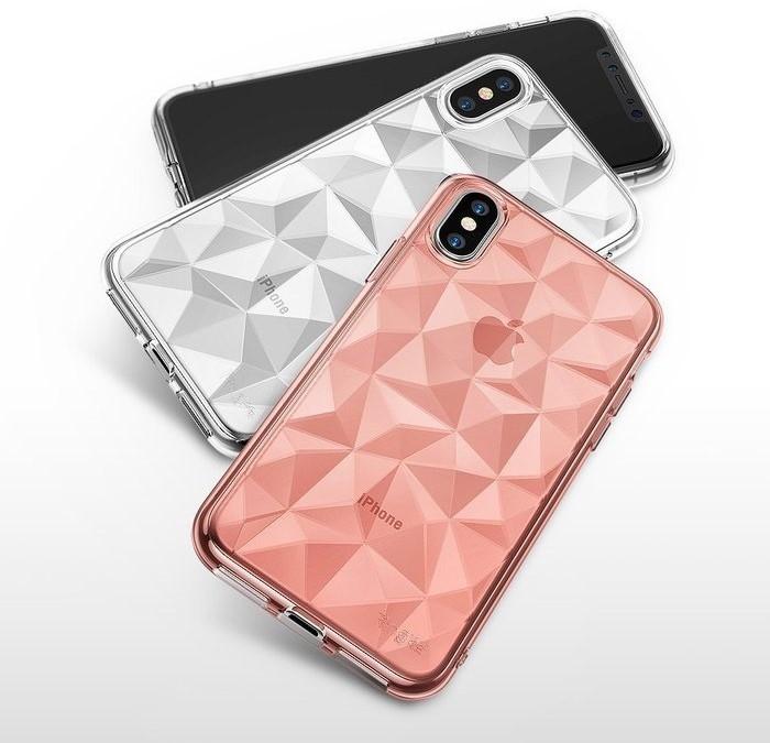 Husă Ringke Prism Clear pentru iPhone X 6