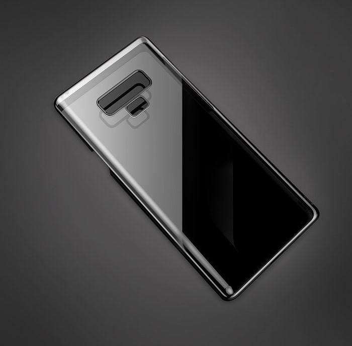 Husa Benks Electroplated transparent negru pentru Samsung Galaxy Note 9 1