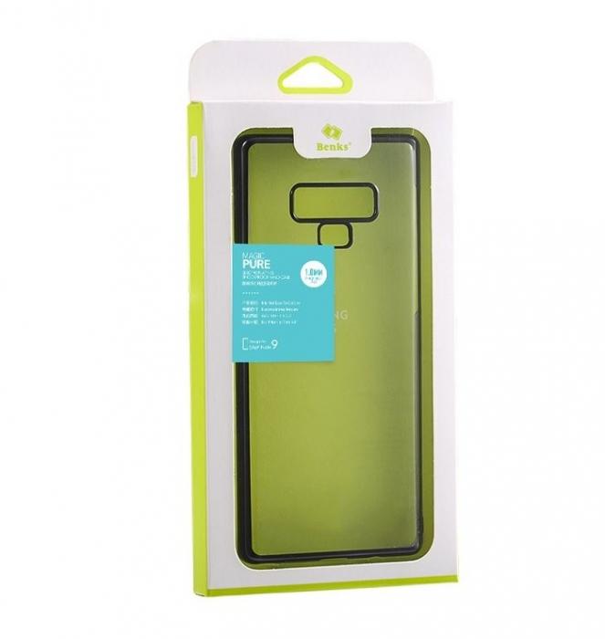 Husa Benks Electroplated transparent negru pentru Samsung Galaxy Note 9 2