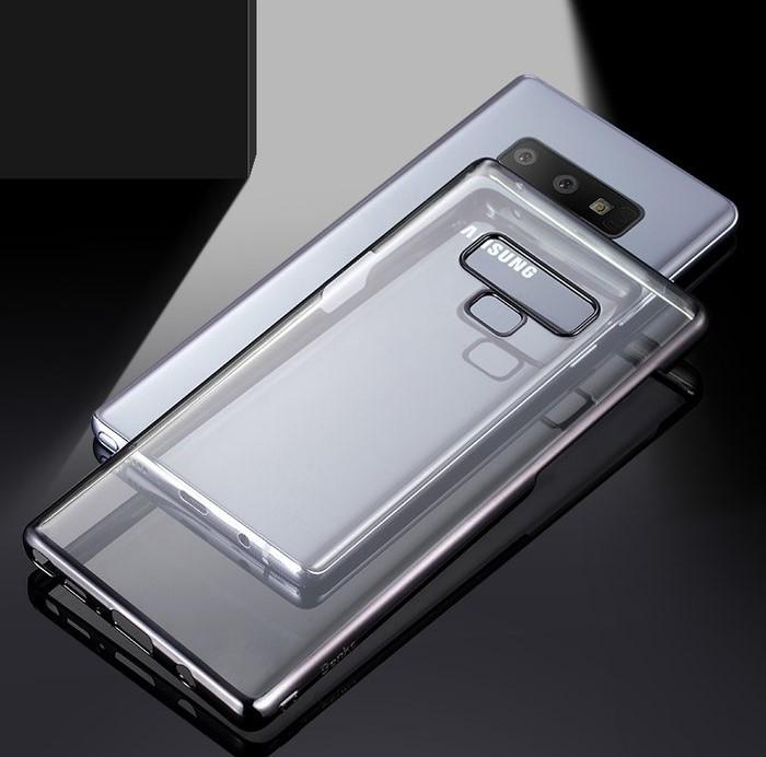 Husa Benks Electroplated transparent negru pentru Samsung Galaxy Note 9 3