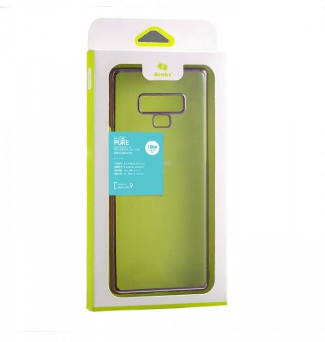 Husa Benks Electroplated transparent violet pentru Samsung Galaxy Note 9 1