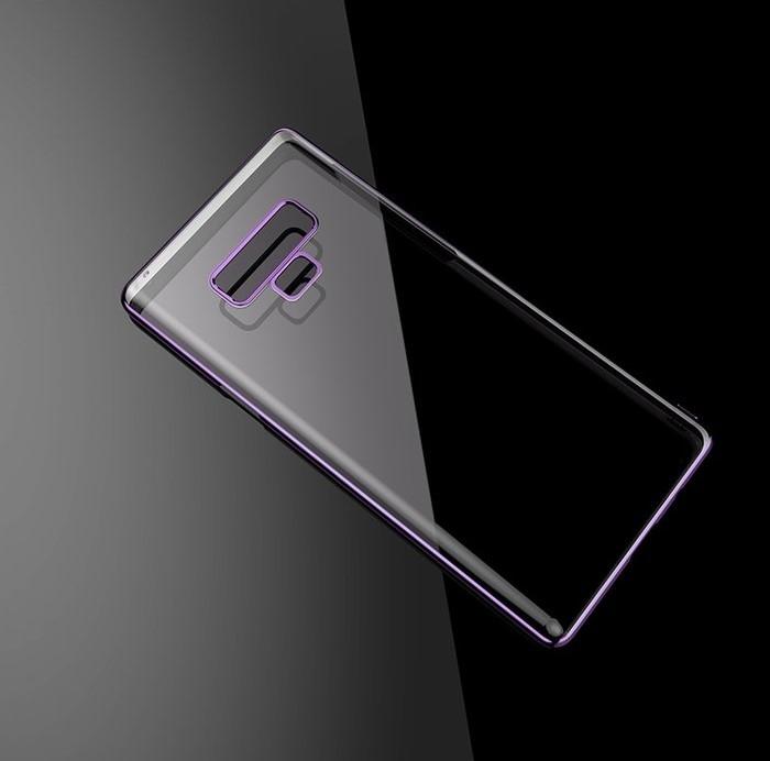 Husa Benks Electroplated transparent violet pentru Samsung Galaxy Note 9 2