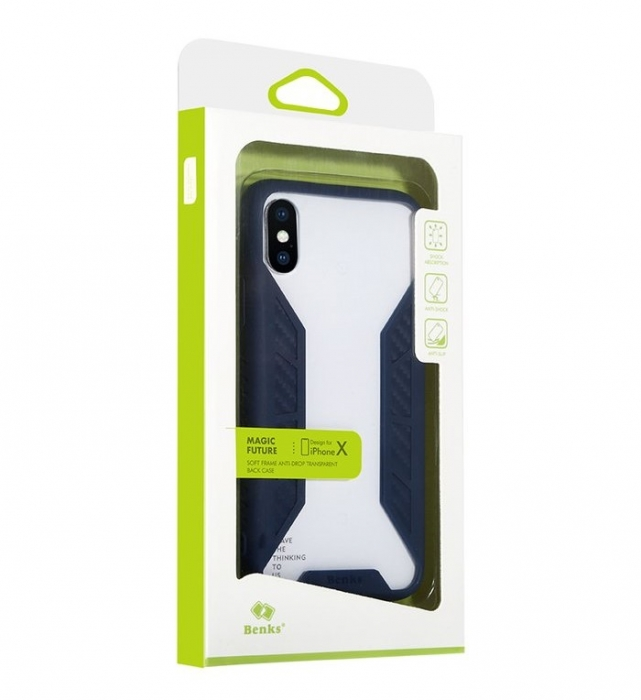 Husa Benks Future 3D Full pentru iPhone X 5