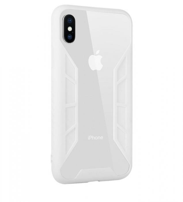 Husa Benks Future 3D Full ALB pentru iPhone X 1