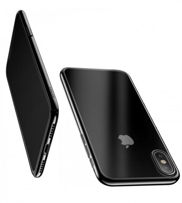 Husa Benks iPhone X Electroplated Negru pentru iPhone X 2