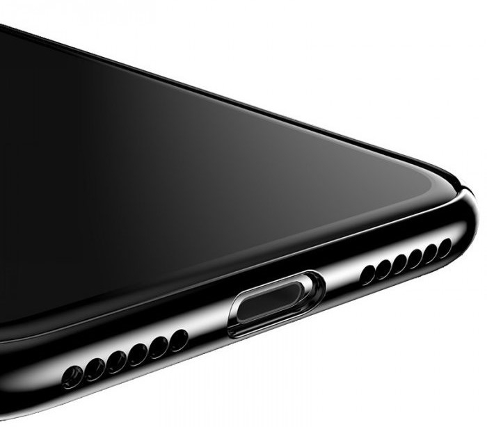 Husa Benks iPhone X Electroplated Negru pentru iPhone X 4