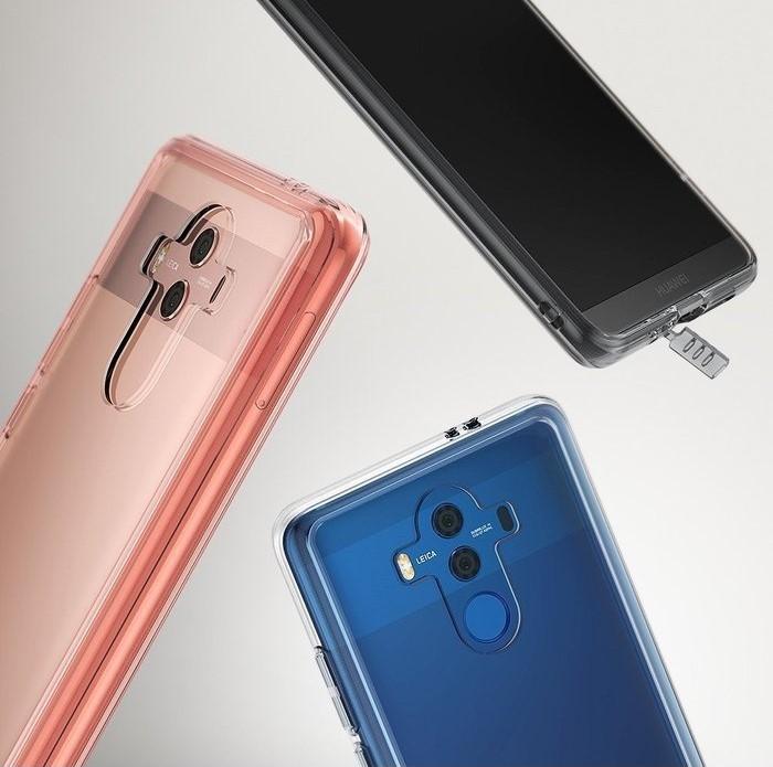 Husa Ringke FUSION CLEAR Transparent pentru Huawei Mate 10 PRO 0