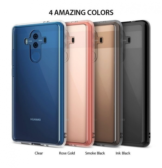 Husa Ringke FUSION INK BLACK pentru Huawei Mate 10 PRO 5