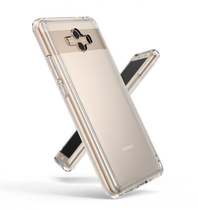 Husa Ringke FUSION  Transparent / Fumuriu pentru Huawei Mate 10 0
