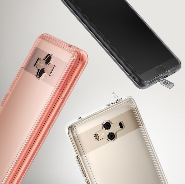 Husa Ringke FUSION Negru-Transparent pentru Huawei Mate 10 6