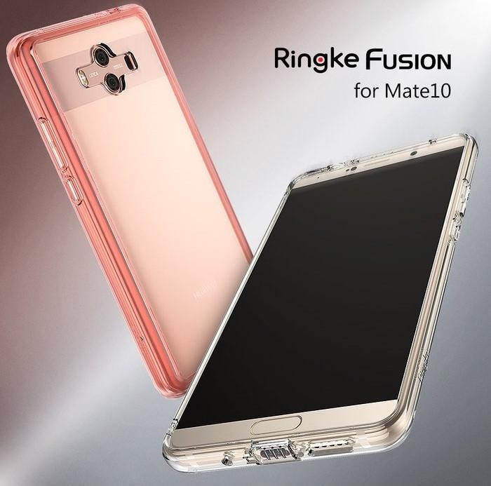 Husa Ringke FUSION  Transparent / Fumuriu pentru Huawei Mate 10 2