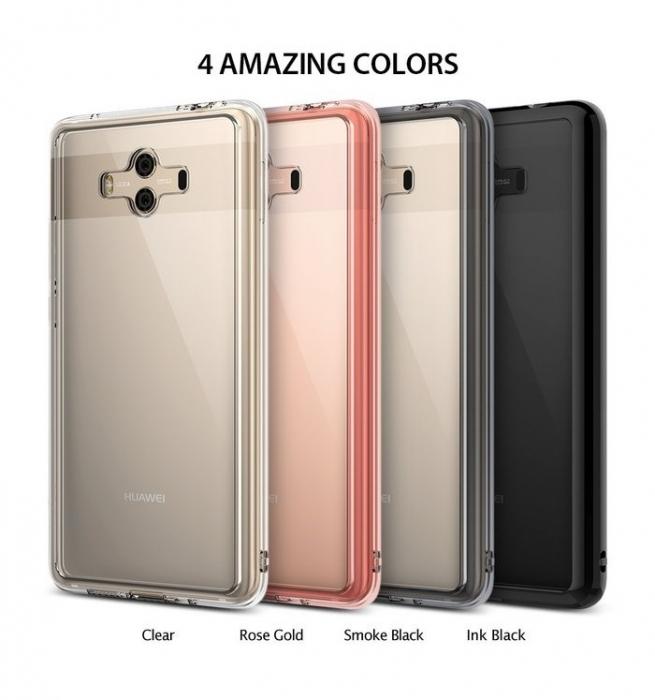 Husa Ringke FUSION Negru-Transparent pentru Huawei Mate 10 3
