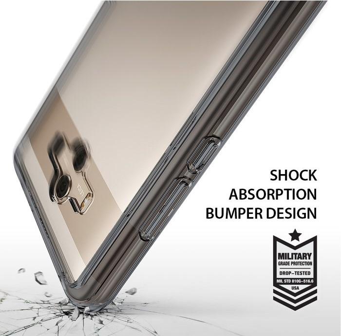 Husa Ringke FUSION  Transparent / Fumuriu pentru Huawei Mate 10 6