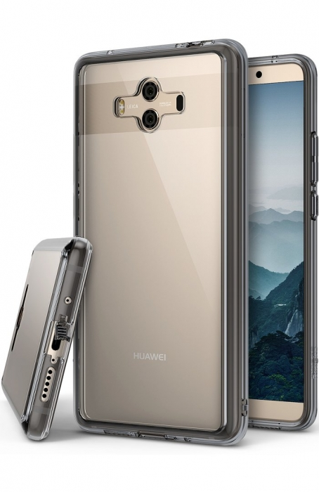Husa Ringke FUSION  Transparent / Fumuriu pentru Huawei Mate 10 7