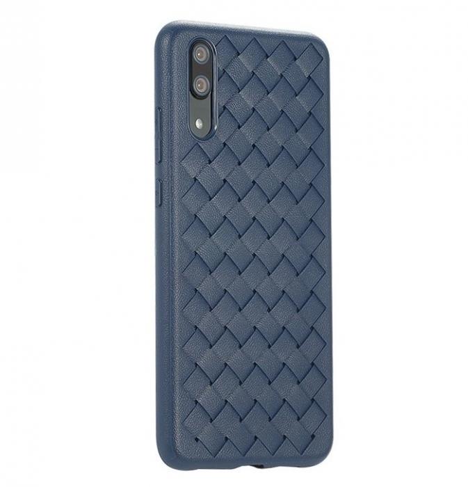 Husa Benks TPU Blue impletita pentru Huawei P20 0