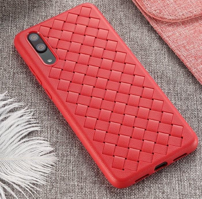 Husa Benks TPU Red impletita pentru Huawei P20 1