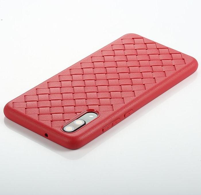 Husa Benks TPU Red impletita pentru Huawei P20 2