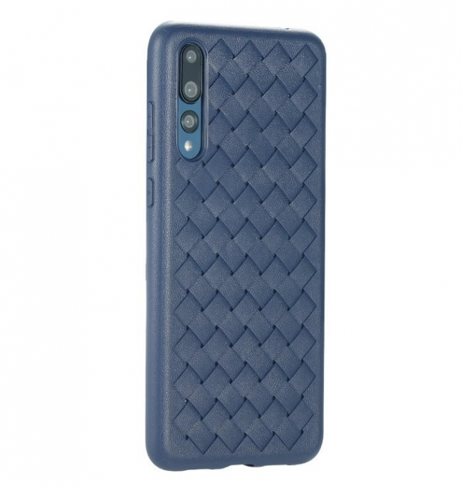 Husa Benks TPU Blue impletita pentru Huawei P20 Pro 1