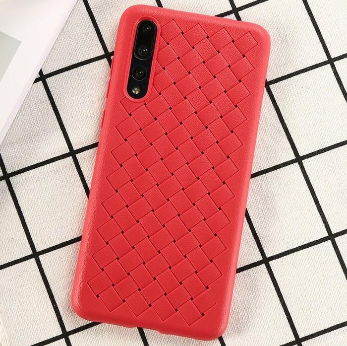 Husa Benks TPU Red impletita pentru Huawei P20 Pro 2