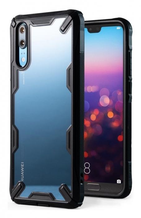 Husa Ringke FUSION X Black pentru Huawei P20 3