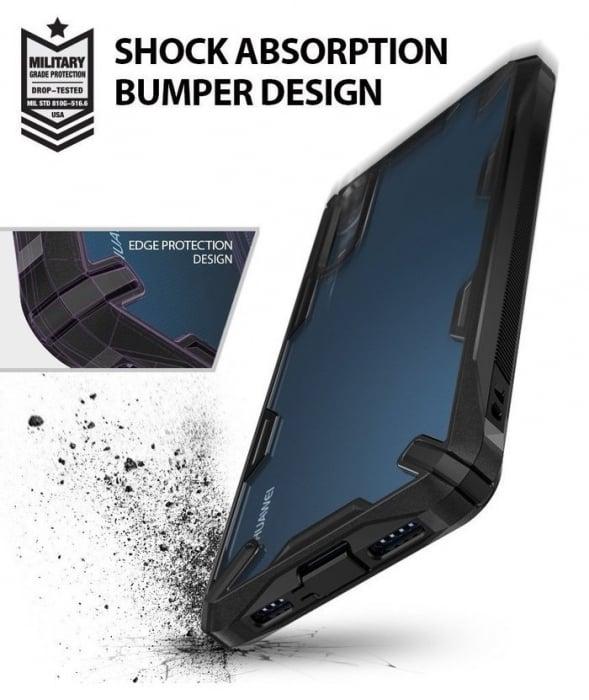 Husa Ringke FUSION X Black pentru Huawei P20 6