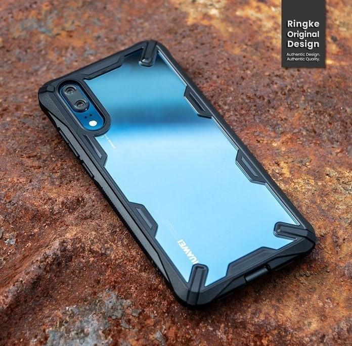 Husa Ringke FUSION X Black pentru Huawei P20 7
