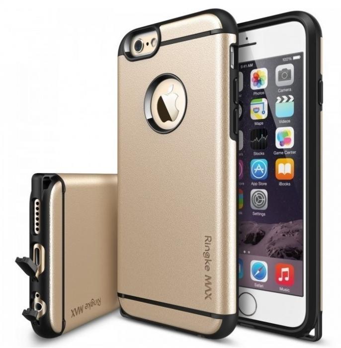 Husa Ringke ARMOR MAX ROYAL GOLD+BONUS folie protectie display Ringke pentru  iPhone 6 / 6s 0