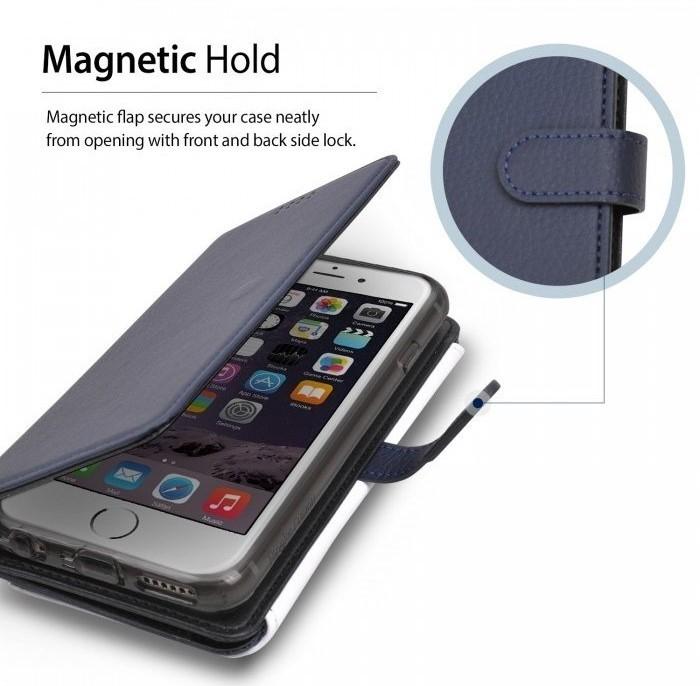 Husa Ringke WALLET NEGRU pentru  iPhone 6 / iPhone 6s 1