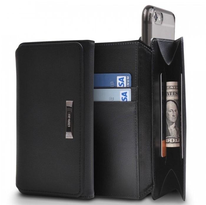 Husa Ringke WALLET NEGRU pentru  iPhone 6 / iPhone 6s 4