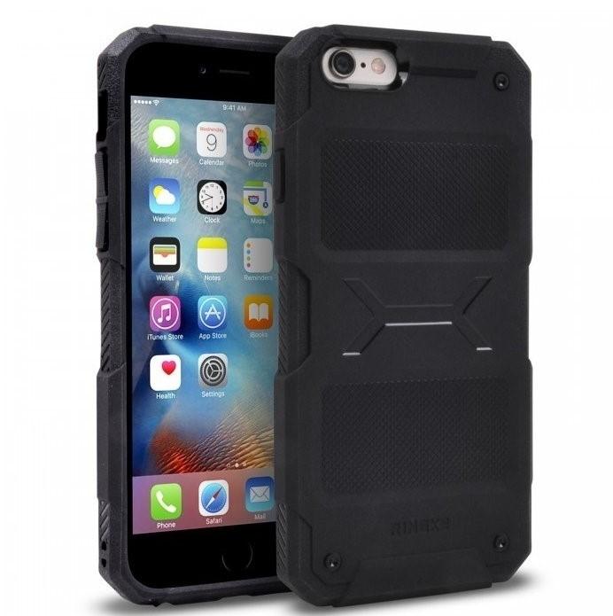 Husa Ringke REBEL BLACK + folie Ringke cadou pentru iPhone 6 Plus / 6s Plus 0