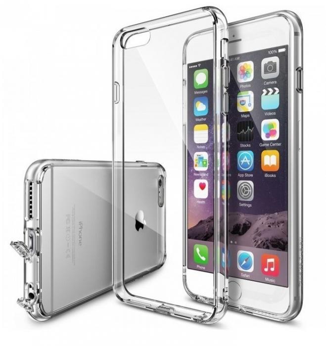 Husa Ringke FUSION Crystal View+BONUS Ringke Invisible Defender Screen Protector pentru iPhone 6 Plus / iPhone 6s Plus 0