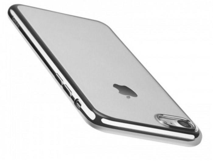 Husa Benks Magic Glitz TRANSPARENT-ARGINTIU pentru  iPhone 7  iPhone 8 2