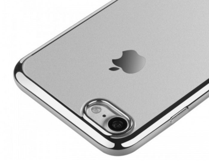 Husa Benks Magic Glitz TRANSPARENT-ARGINTIU pentru  iPhone 7  iPhone 8 5