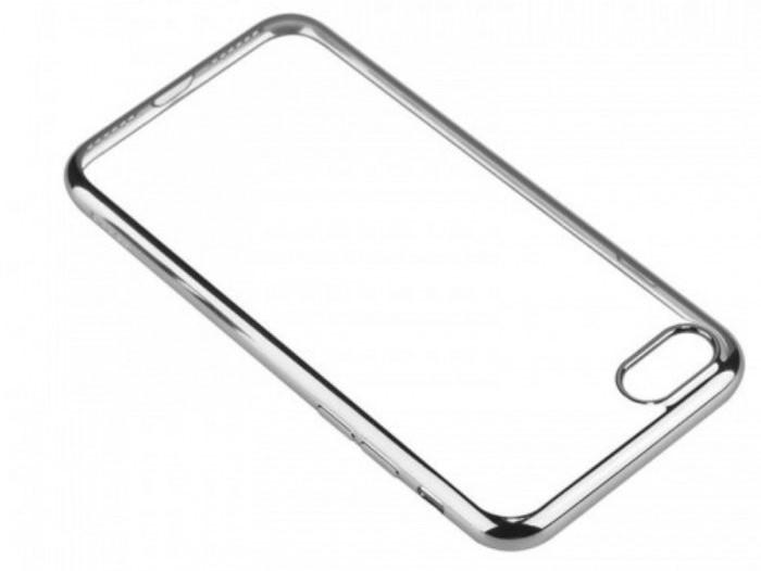 Husa Benks Magic Glitz TRANSPARENT-ARGINTIU pentru  iPhone 7  iPhone 8 6